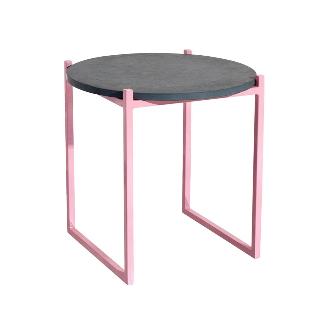 04 lulu beistelltisch schiefer grau stahl rosa