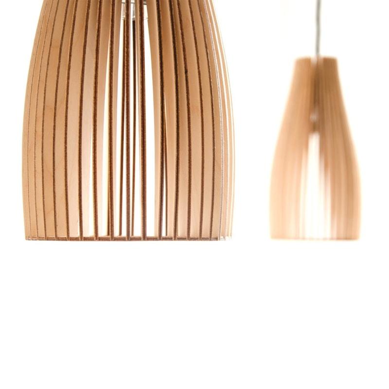 10 ena pendelleuchte pendellampe holz birke natur hellbraun licht lampe iumi