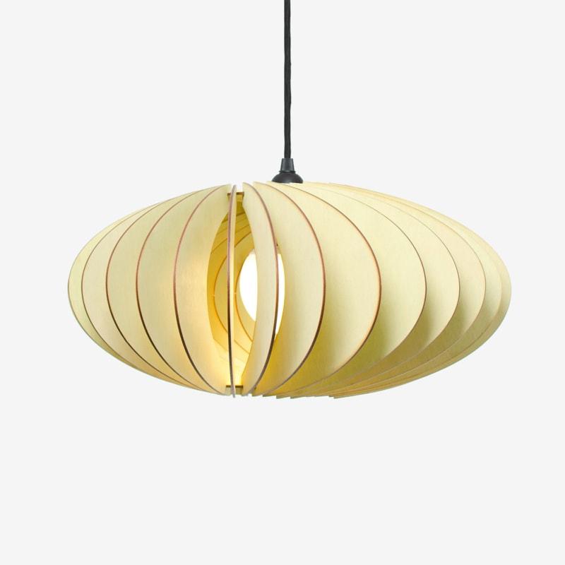 12 nefi haengelampe pendelleuchte pendellampe holz birke gruen hellbraun licht lampe iumi