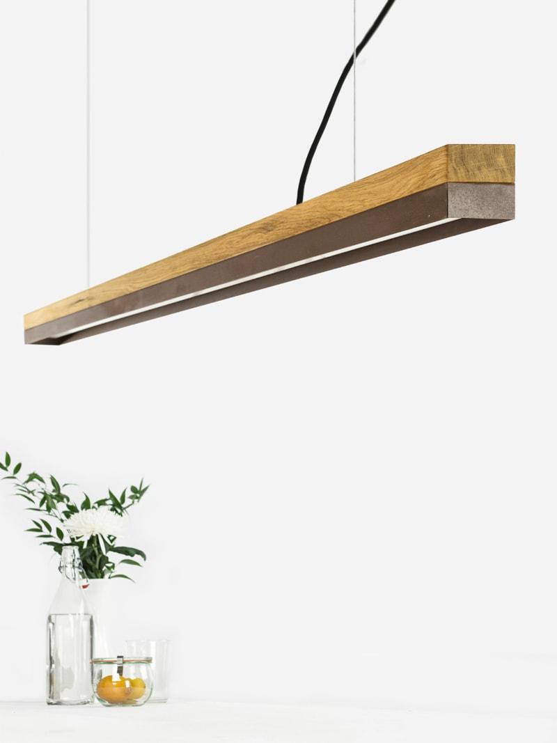 16 c3 konfigurator haengelampe pendelleuchte lampe leuchte licht eichenholz cortenstahl stahl gantlights