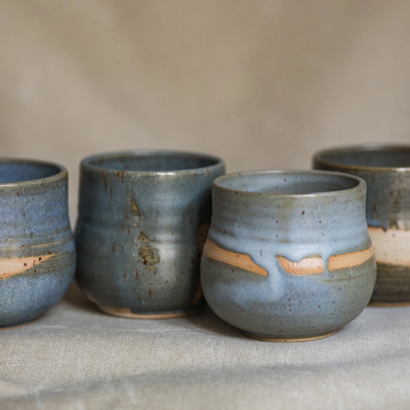 02 cacao ceremony vessel keramik ton blau handgefertigt brsg