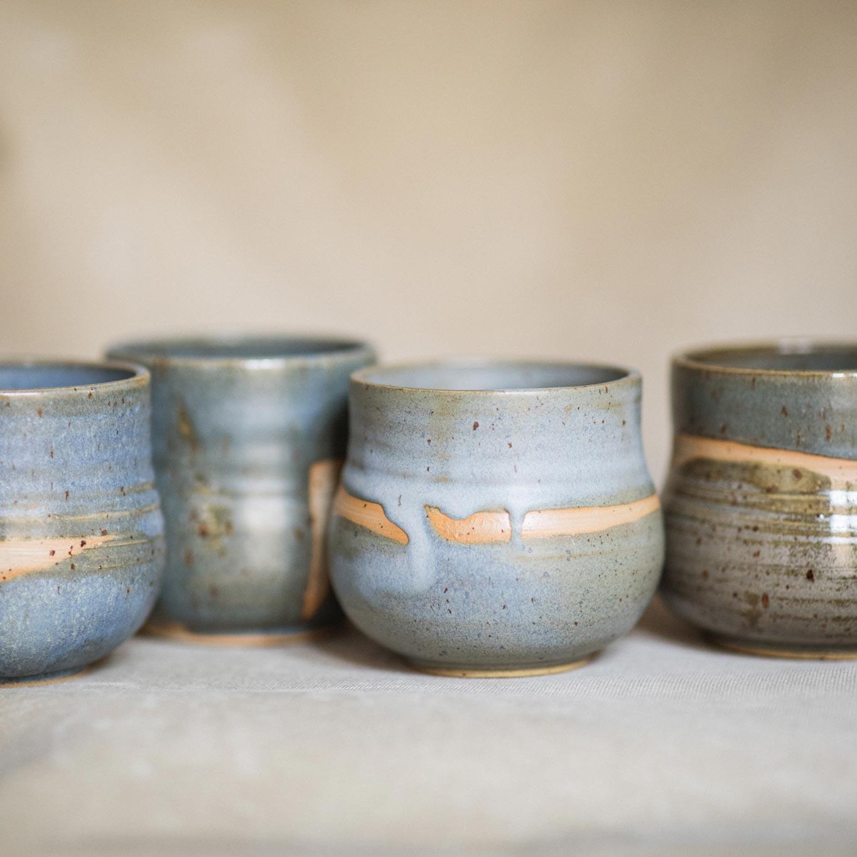 03 cacao ceremony vessel keramik ton blau handgefertigt brsg