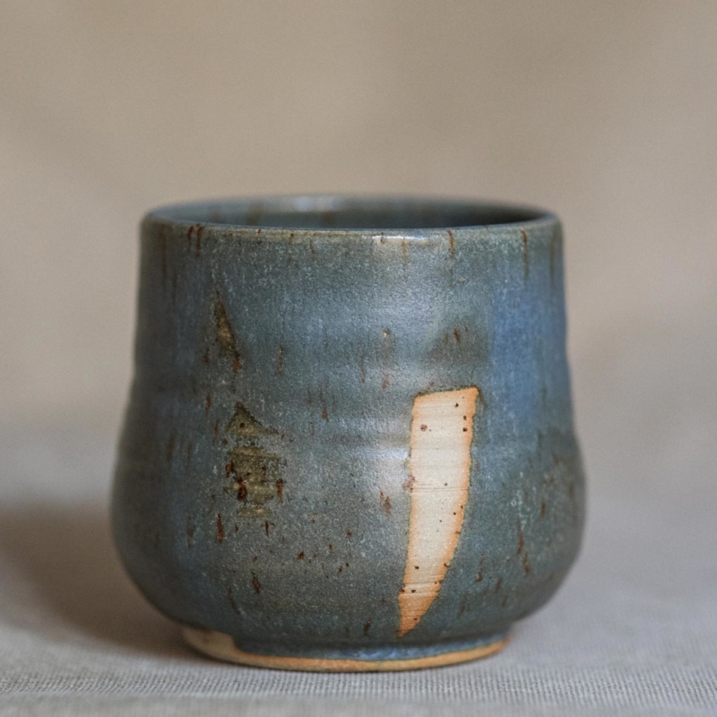 06 cacao ceremony vessel keramik ton blau handgefertigt brsg