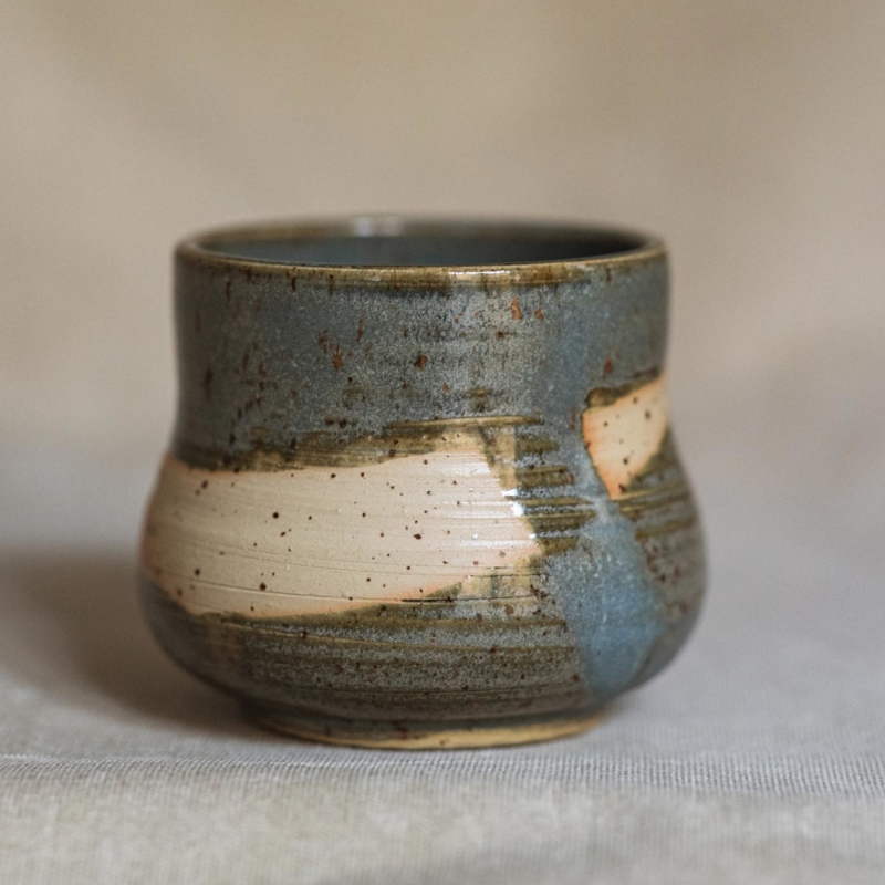 07 cacao ceremony vessel keramik ton blau handgefertigt brsg