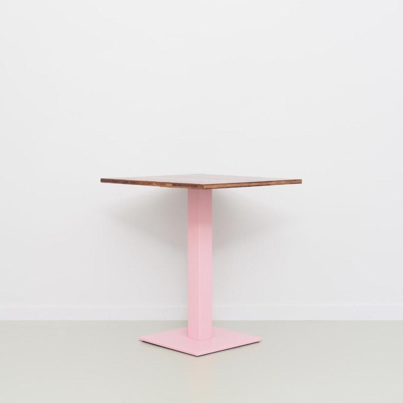 09 louis coffeetable bistrotisch tisch stehtisch eiche braun stahl hellrosa rosa johanenlies scaled