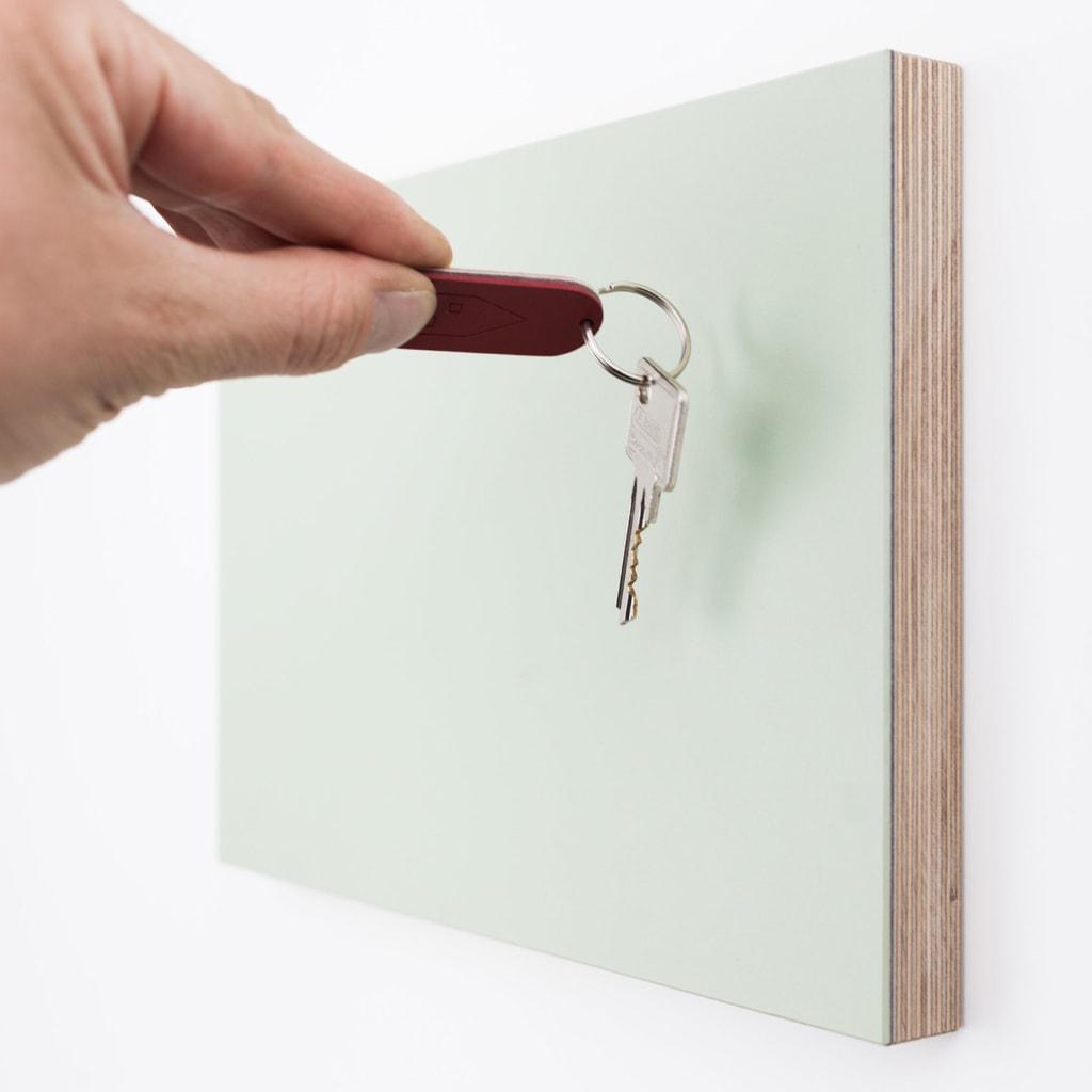12 anziehend birke holz schluesselbrett magnete gruen tuerkis grau linoleum stadig